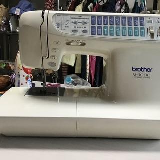 ブラザーミシンMー3000  自動糸切り付き
