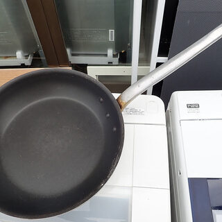 札幌市 業務用調理フライパン サイズ 全長71cm 直径38cm 中古