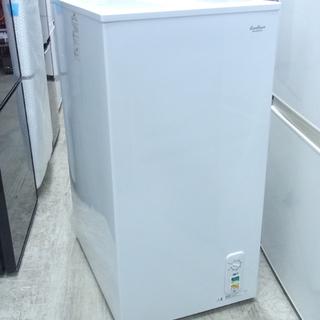 南12条店 58L 冷凍ストッカー 上引戸 冷凍庫 スリムタイプ...