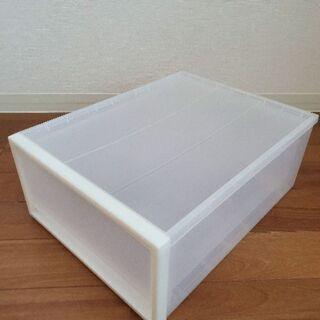 【無印良品】PP収納ケース引き出し式・小 約幅34×奥44.5×...