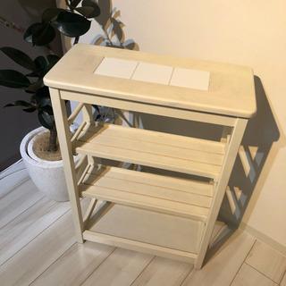 キッチンラック 白 棚