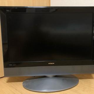 ジャンク品 日立32型TV【W32L-H8000】リモコン付
