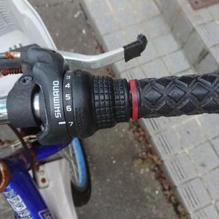 決まりました♪【要メンテ品】男児用自転車   7段変速ギア 《Go Fighter★7》 - 自転車