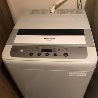 パナソニック洗濯機 5kg