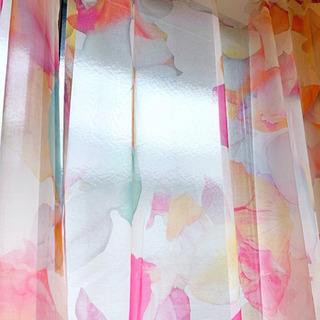 アートなレースのカーテン 定価13万円→2.2万円