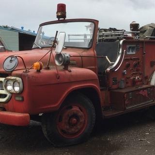 「防衛庁」いすゞ 大型消防車 1600リットル型 1974年製 ...