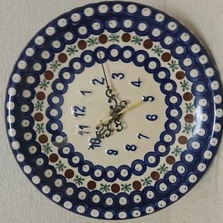 WIZA製(ポーランド) お洒落な壁掛け時計