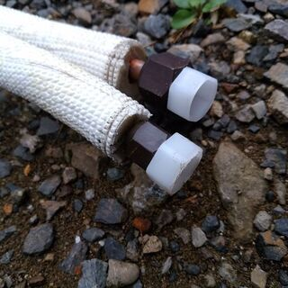 エアコンの銅管 配管 長さ2950mm