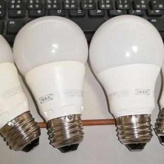 IKEA LED電球 E26 電球色4個