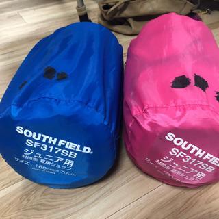 子供用寝袋 2個セット シュラフ スリーピングバッグ