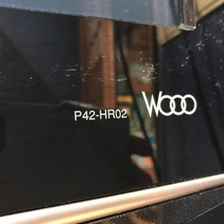 42型HDD内蔵プラズマテレビ ジャンク