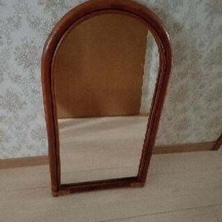 鏡  姿見 きれいです