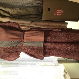着物リメイク  手作り  ブラウス、ガウチョパンツのセット