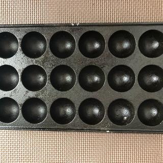 業務用たこ焼き鉄板プレート一枚