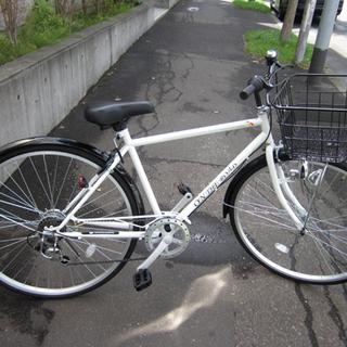 札幌 購入して1ヶ月 美品 27インチ シティサイクル ママチャ...