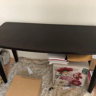 木製コーナーテーブル &椅子
