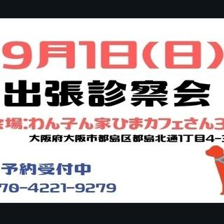 9/1(日)わん子ん家ひまカフェ出張診察会