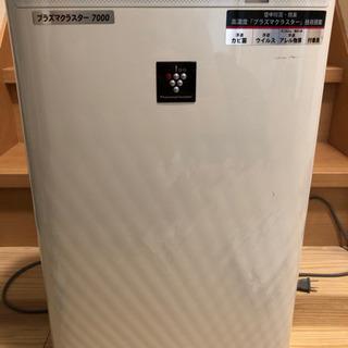 SHARP プラズマクラスター7000 加湿空気清浄機
