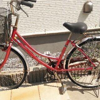 自転車ギア5段オートライト付