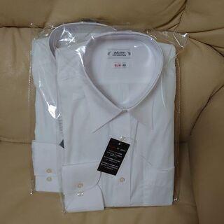 [新品未使用]男性用 長袖Yシャツ☆二枚セットで