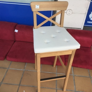 有料配送あり【トレファク入間店】IKEA カウンターチェアのご紹介!