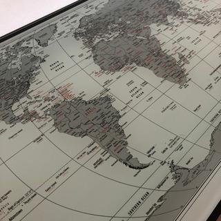 【世界地図 カウンターテーブル】
