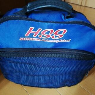初芝スイミングスクールのバッグ
