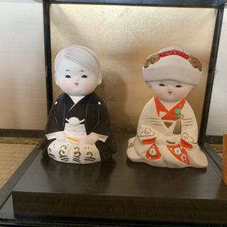 博多人形 夫婦人形ケース付き