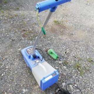 芝刈機とバリカンのセットです。