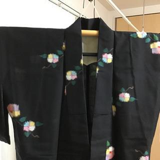 ウールの着物 羽織・襦袢セット