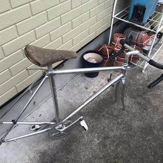 ミヤタ製ロードバイク フレーム+オマケ。