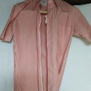 男もの半袖ワイシャツ (古着)