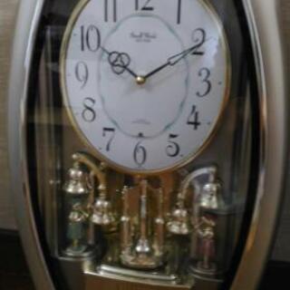 掛け時計(メロディー時報機能付き)