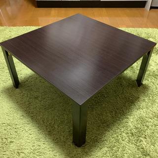 【説明書付】ニトリ 折りたたみ ローテーブル 座卓