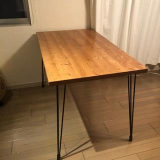 ダイニングテーブル 、カフェテーブル、鉄脚