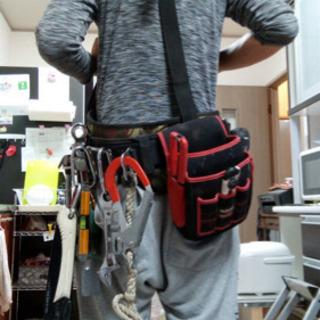 サスペンダー付き腰袋の画像