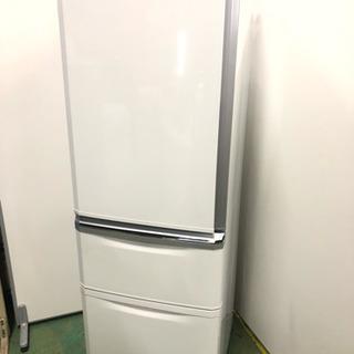 3ドア冷蔵庫 三菱 370L ★近隣送料・設置無料★♪二人暮らし...