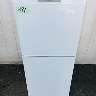 891番 MITSUBISHI✨ 冷凍冷蔵庫❄️MR-14P-W‼️