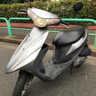 【超快速】 原付 アドレス V50G  4st シルバー