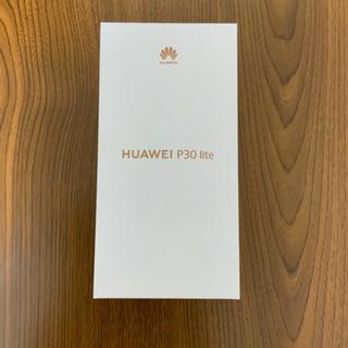 HUAWEI P30lite 青 SIMフリー