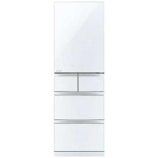 【新品未開封】三菱冷凍冷蔵庫MR-B46D 左開きタイプ クリス...