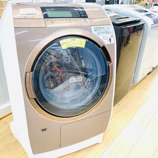 安心の1年保証!ドラム式 洗濯乾燥機 。