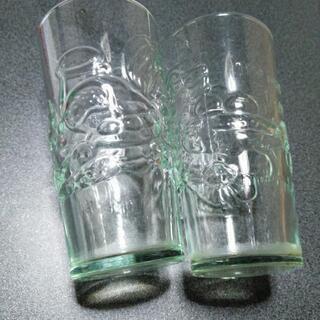グラス二個の画像