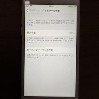 美品 iPhone6 16G Docomo  本体 未使用イヤフォン付