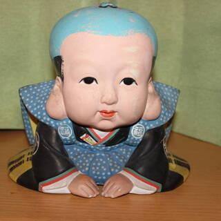 昭和レトロ 福助人形