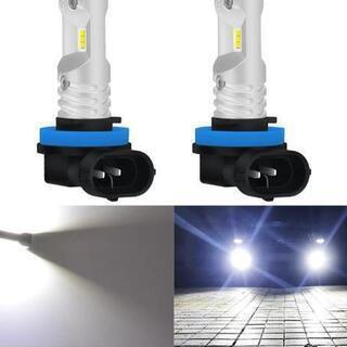 新商品♪地面照らす☆80W!爆光 H8/H11 CSP LED フォグ