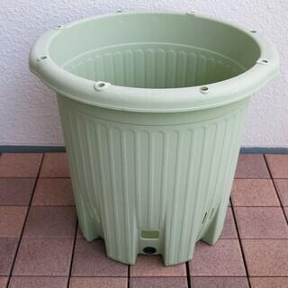 apple 楽々菜園 丸型380 プランター 土容量15L