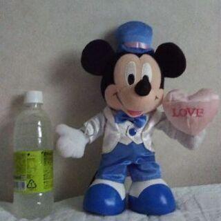 ミッキーマウス  白タキシード衣装&チップ(海賊コスプレ)