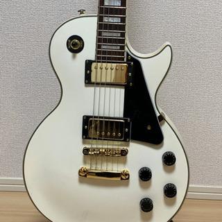 レスポール白【Busker's】エレキギター純正ソフトケース付属