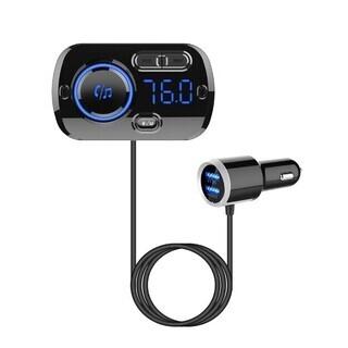 トランスミッター Bluetooth5.0 高音質 シガーソケッ...